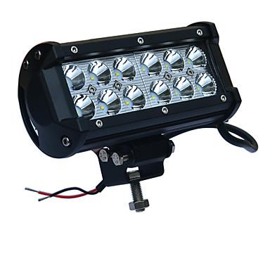 JIAWEN Carro Lâmpadas 36W LED de Alto Rendimento LED luzes exteriores / Luz de Trabalho / Lâmpada de Farol