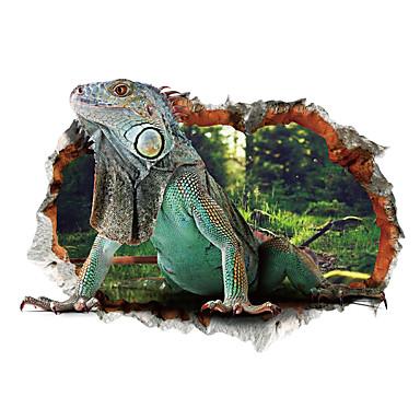 Dyr Tegneserie 3D Veggklistremerker Fly vægklistermærker 3D Mur Klistremerker Dekorative Mur Klistermærker, Vinyl Hjem Dekor