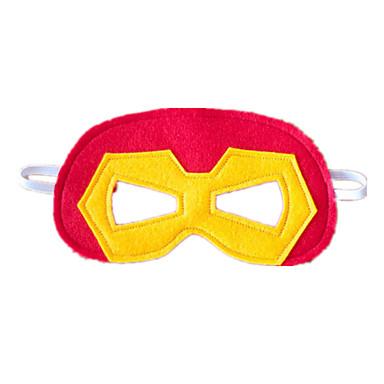 Haloween-masker Maskerademasker Kreativ Kul Horrortema Lær Plast 1pcs Deler Voksne Gave