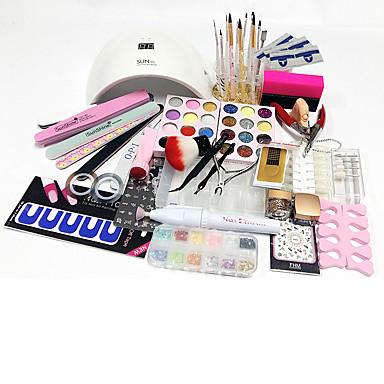 77pcs Nail Art Tool Kits y accesorios para arte de uñas Nail Art Design
