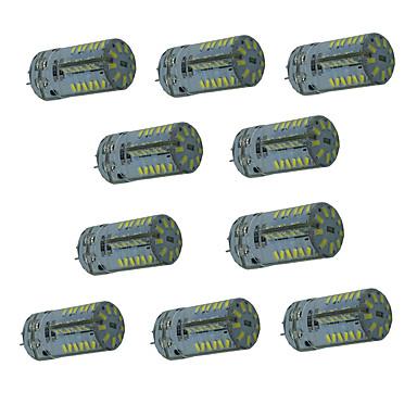 2,5 W G4 LED-lamper med G-sokkel T 57 leds SMD 3014 Vandtæt Dekorativ Varm hvid Kold hvid Naturlig hvid 200-250lm 3000-6000K Jævnstrøm 12