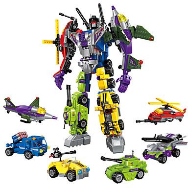 povoljno Roboti-ENLIGHTEN Roboti Kocke za slaganje 506 pcs Vojni Ratnik Stroj kompatibilan Legoing transformabilan Kreativan Cool Classic & Timeless Chic & Moderna Special Dječaci Djevojčice Igračke za kućne ljubimce