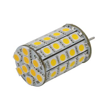 300-330lm GY6.35 LED-lamper med G-sokkel 49 LED perler SMD 5050 Dekorativ Varm hvit 12V
