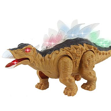Drager og dinosaurer Dinosaurfigurer Jurassic Dinosaur Triceratops Tyrannosaurus Rex Elektrisk Plast Gutt Barne Gave