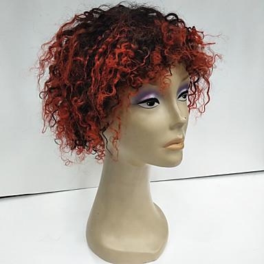 abordables Perruques Naturelles Dentelle-Perruque Cheveux Naturel humain Cheveux Brésiliens Afro Ondulation profonde Nature Noir 130% avec des cheveux de bébé Cheveux Colorés Ligne de Cheveux Naturelle Perruque afro-américaine 100 % Tissée