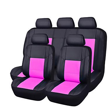 voordelige Auto-interieur accessoires-CARPASS Auto-stoelhoezen Stoel hoezen Zwart / helderblauw / Blozend Roze PU-nahka Zakelijk Voor Universeel