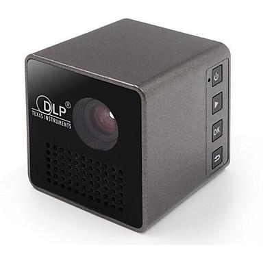 UNIC P1 DLP Mini Proyector LED Proyector 15/30 lm Apoyo 720P (1280x720) 7-70 pulgada Pantalla / nHD (640x360)