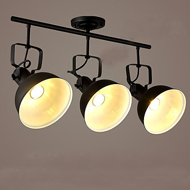 3-luz spot Light Luz Ambiente - Estilo Mini, 110-120V / 220-240V Lâmpada Não Incluída / 10-15㎡ / E26 / E27
