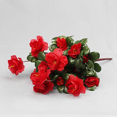 Künstliche Blumen 1 Ast Moderner Stil Azalea Tisch-Blumen