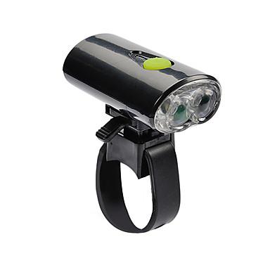 Frontlys til sykkel LED Sykkellykter Sykling Oppladbar, LED Lys, Liten størrelse USB Usb Kjølig hvit Sykling / ABS / Flere moduser
