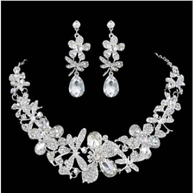 للمرأة مجموعة مجوهرات - أنيق تتضمن أبيض من أجل زفاف حزب مناسبة خاصة