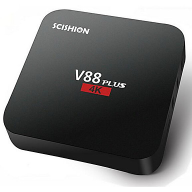 SCISHION V88 Plus Android 5.1 TV-boks Rockchip 3229 2GB RAM 8GB ROM Kvadro-Kjerne