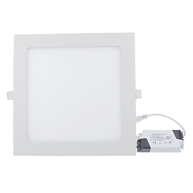 1350-1500 lm LED Panel Lights Recessed Retrofit 75 leds SMD 2835 Warm White Cold White AC 85-265V