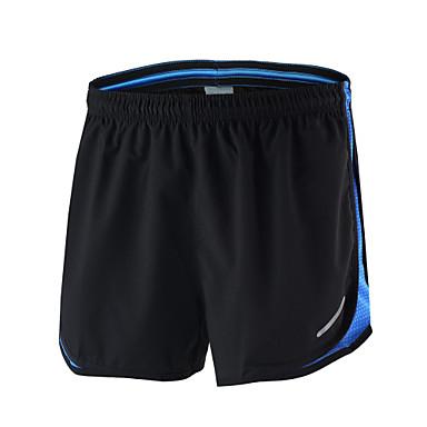 Arsuxeo Hombre Shorts de running - Negro+Gris, Negro / azul, Negro / amarillo Deportes Shorts / Malla corta Ropa de Deporte Secado
