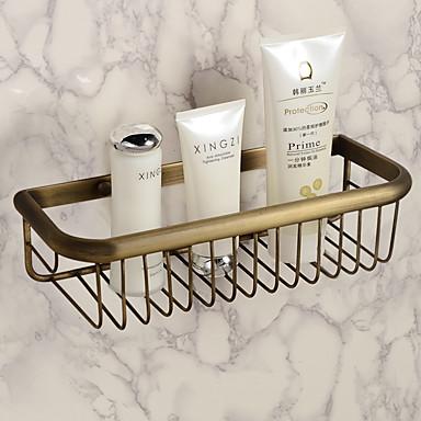 رف الحمام الكلاسيكية الحديثة نحاس 1 قطعة - حمام الفندق