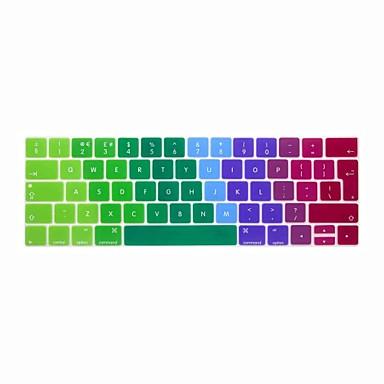 xskn® европейский английский красочный кожа силиконовая клавиатура и сенсорной панели протектор для 2016 года нового Macbook Pro 13,3 /
