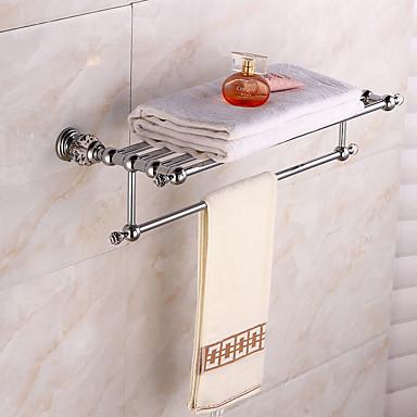 Prateleira de Banheiro Modern Latão 1 Pça. - Banho do hotel Casal (L200 cm x C200 cm)