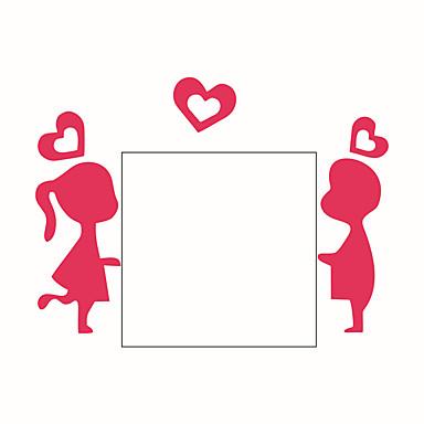 الناس رومانسية كارتون ملصقات الحائط لواصق حائط الطائرة لواصق حائط مزخرفة لواصق مفتاح الاضاءة, الفينيل تصميم ديكور المنزل جدار مائي جدار