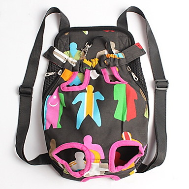 Cat Dog Carrier & Travel Backpack Front Backpack Pet Baskets Portable Cute Rainbow For Pets