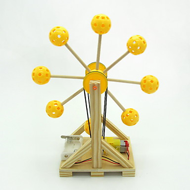 voordelige 3D-puzzels-Modelbouwsets Educatief speelgoed Drumstel Reuzenrad DHZ Kinderen Volwassenen Jongens Meisjes Speeltjes Geschenk