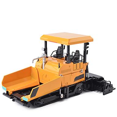 Caminhão Pavimentadoras de Asfalto Caminhões & Veículos de Construção Civil Carros de Brinquedo Metalic Crianças Unisexo Para Meninos Para Meninas Brinquedos Dom