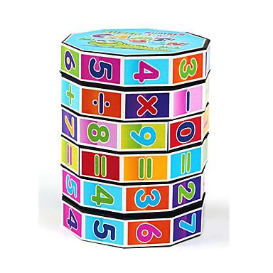 Brinquedos Matemáticos Quebra-cabeças Brinquedo Educativo Brinquedos Forma Cilindrica 1pcs Peças Aniversário Dia da Criança Dom