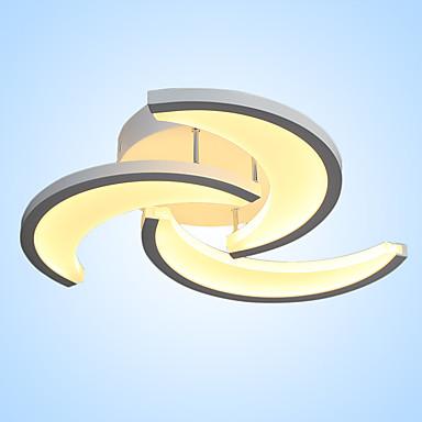 Kronleuchter Deckenfluter Lackierte Oberflächen LED 220-240V / integrierte LED
