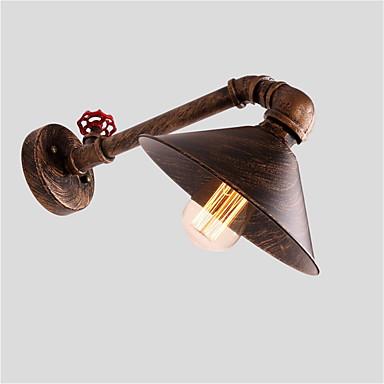 OYLYW Rústico / Campestre / Vintage / Retro Lámparas de pared Sala de estar / Dormitorio Metal Luz de pared 110-120V / 220-240V 60 W / E26 / E27