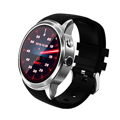 voordelige Slimme elektronica-Smart horloge voor iOS / Android Hartslagmeter / GPS / Handsfree bellen / Aanraakscherm / Waterbestendig Stopwatch / Activiteitentracker / Slaaptracker / Zoek mijn toestel / Wekker / 512MB / Camera