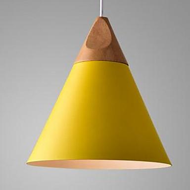 Cone Luzes Pingente Luz Ambiente - LED, 110-120V / 220-240V, Branco Quente, Lâmpada Não Incluída / 5-10㎡ / E26 / E27