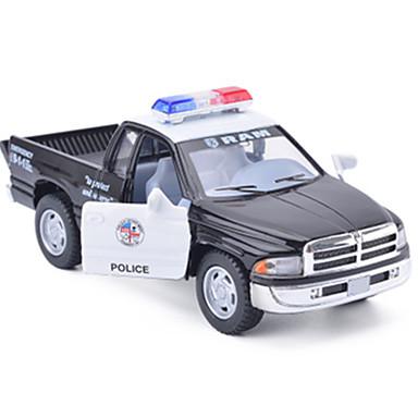 لعبة سيارات سيارة طراز شاحنة سيارة الشرطة سيارة محاكاة للجنسين صبيان فتيات ألعاب هدية