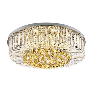 9-Light Krystall Takplafond Omgivelseslys Andre Metall Glass Krystall, Mini Stil 110-120V / 220-240V Pære ikke Inkludert / E12 / E14