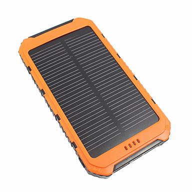10000 mAh Til Power Bank Eksternt batteri 5 V Til 3.1 A / # Til Batterioplader Vandtæt / Multi-udgange / Solopladning LED