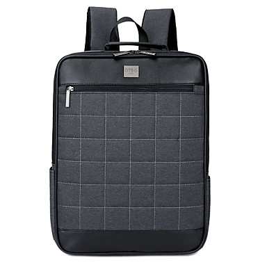Náilon Negócio Côr Sólida Mochilas Laptop de 15 polegadas