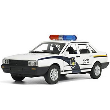 Carros de Brinquedo Modelo de Automóvel Carro de Polícia Simulação Unisexo