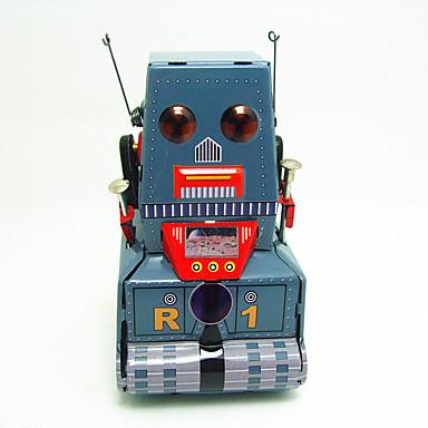 Robô / Brinquedos de Corda Tanque / Máquina / Robô Metalic / Ferro Vintage 1 pcs Peças Crianças Dom