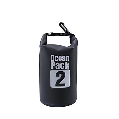 2 L Bolsa Impermeável Bolsa Seca Prova-de-Água para Acampar e Caminhar Alpinismo Natação Praia