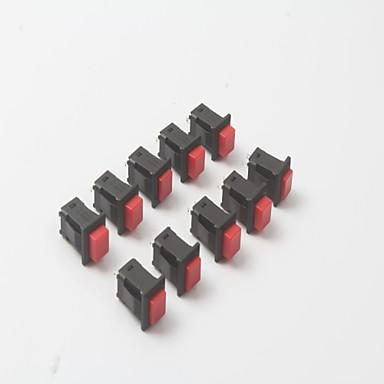 Interruptor de chave de travamento automático 1a / 250v ac 3a / 125v ac (10pcs)