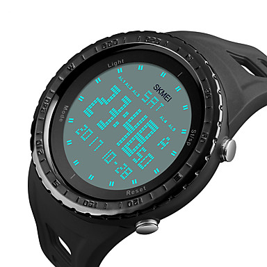 Relógio inteligente YY1246 para Suspensão Longa / Impermeável / Multifunções / Esportivo Temporizador / Cronómetro / Relogio Despertador / Cronógrafo / Calendário