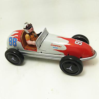 Carros de Brinquedo / Brinquedos de Corda Carro de Corrida Retro Carro Metalic / Ferro Vintage / Retro 1 pcs Peças Para Meninos Crianças Dom