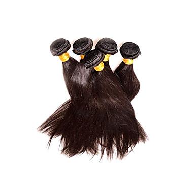 شعر عذراء موجات الشعر الطبيعي مستقيم شعر من البيرو 500 g سنة