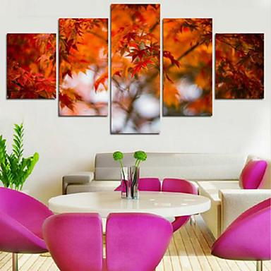 Kunstdrucke Landschaft Modern,Fünf Panele Horizontal Druck-Kunst Wand Dekoration For Haus Dekoration