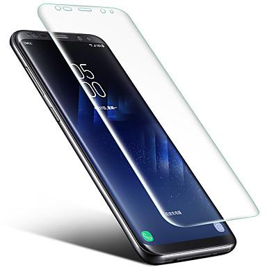Protetor de Tela Samsung Galaxy para S8 Plus S8 TPU 1 Pça. Protetor de Tela Frontal Borda Arredondada 2.5D Alta Definição (HD)