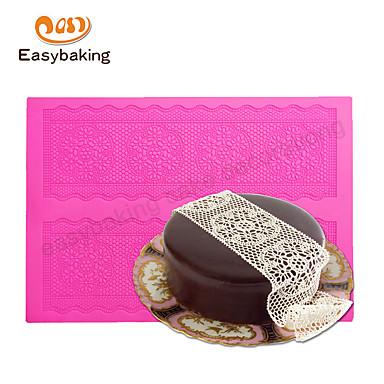 Ferramenta de decoração Rendas para Candy Chocolate Pizza Torta Cupcake Biscoito Bolo Other Borracha Silicone Silicone Amiga-do-Ambiente