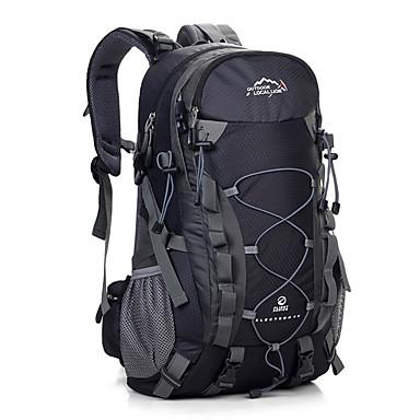 40 L حقائب ظهر - مقاوم للماء, يمكن ارتداؤها, متنفس في الهواء الطلق التخييم والتنزه, السفر برتقالي, أحمر, أصفر