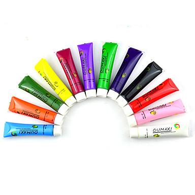 voordelige Nagelgereedschap & Apparatuur-Nail Art Tool Voor Duurzaam / 12 kleuren Nagel kunst Manicure pedicure schilderen Gel / Gepersonaliseerde / Klassiek Dagelijks