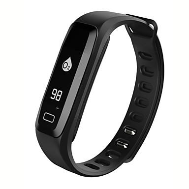 Pulseira inteligente iOS Android Tela de toque Monitor de Batimento Cardíaco Impermeável Calorias Queimadas Pedômetros Tora de Exercicio