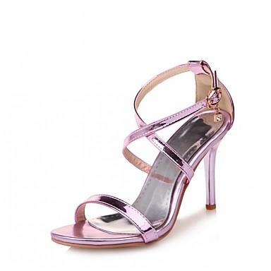 Automne Chaussures Aiguille Femme Confort Nouveauté Marche Eté Polyuréthane de Sandales Bout 05868155 club Talon Similicuir Chaussures RTRfFxIw