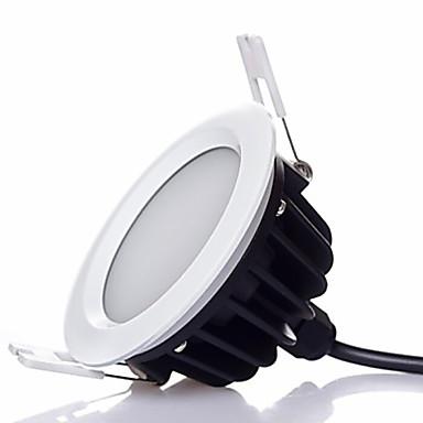 7W 700 lm Brak Oświetlenie downlight LED 1 Diody lED SMD 5630 Przysłonięcia Ciepła biel Zimna biel Naturalna biel AC 220-240V