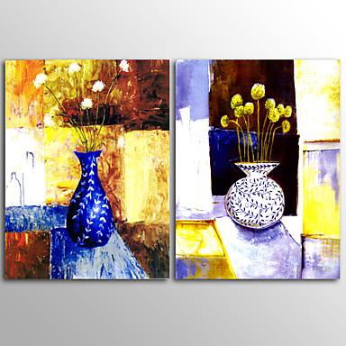 Značky do zahrady Abstraktní Moderní,Dva panely Plátno Horizontální Grafika Wall Decor For Home dekorace